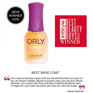 Orly Bonder wins Instyle Best Beauty Buys 2015 Award