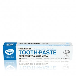 Green People Peppermint Fluoride Free Toothpaste