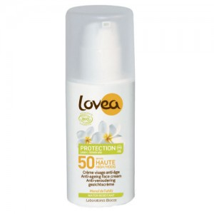Lovea Organic SPF50 Daily Face Cream