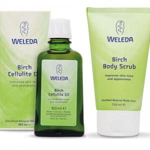 Weleda Birch Bundle (Weleda Birch Scrub & Birch Cellulite Oil)