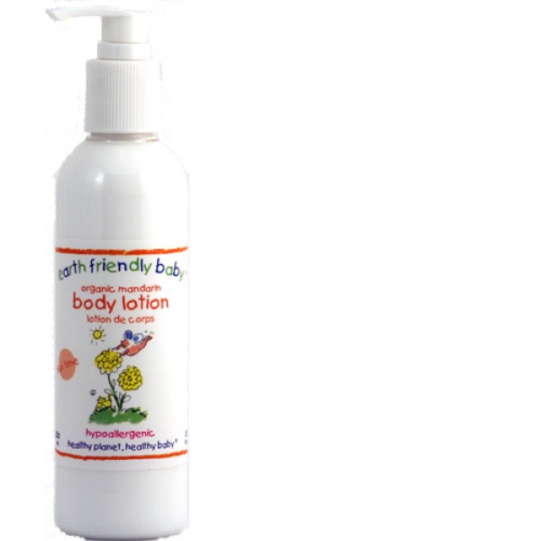 Earth Friendly Baby Mandarin Body Lotion