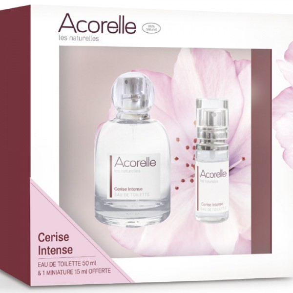 Acorelle Cerise Intense Natural Eau de Toilette Gift Set