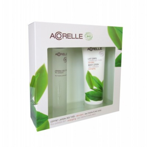 Acorelle Natural Perfume - Tea Garden Body Spray & Body Lotion Gift