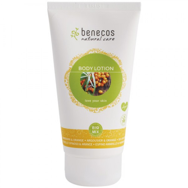 Benecos Body Lotion in Seabuckthorn & Orange