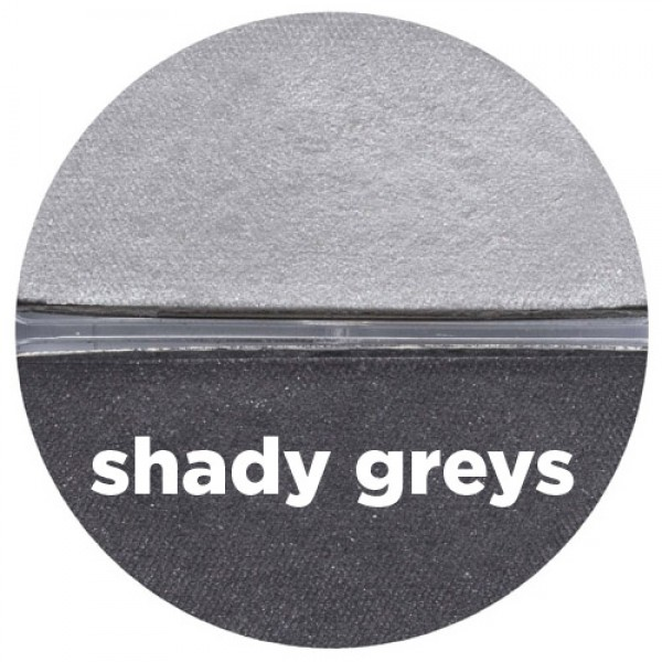 Benecos Natural Duo Eyeshadow - Shady Greys