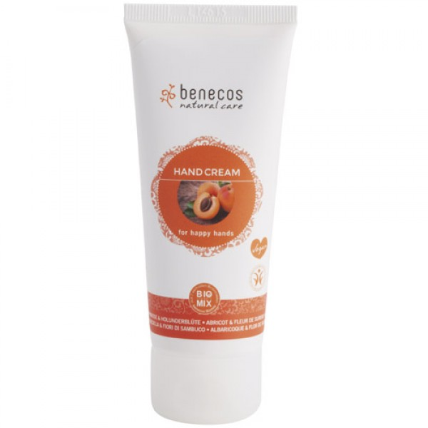 Benecos Hand Cream in Apricot & Elderflower