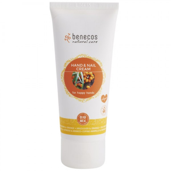 Benecos Hand Cream in Seabuckthorn & Orange
