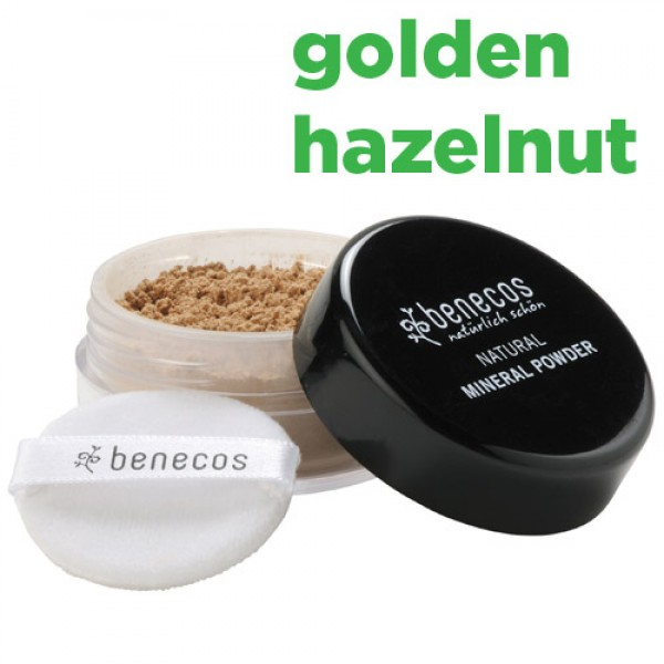 Benecos Natural Mineral Powder - golden hazelnut