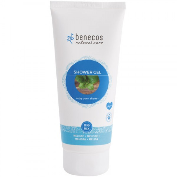 Benecos Shower Gel in Melissa (Lemon Balm)