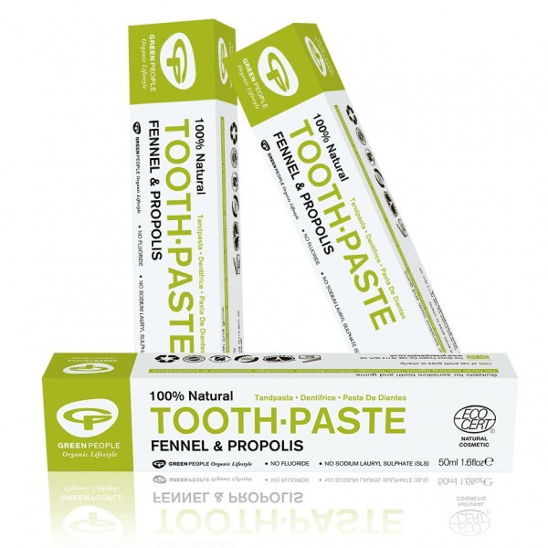Buy 3 and save 5%: Green People Fennel Fluoride Free Toothpaste