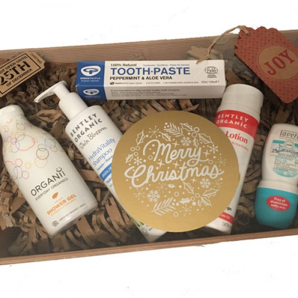 Go Organic Kit +£5 to wrap in our eco hamper