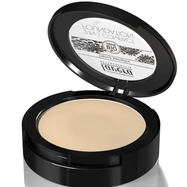 Lavera 2-in-1 Compact Foundation - 01 Ivory