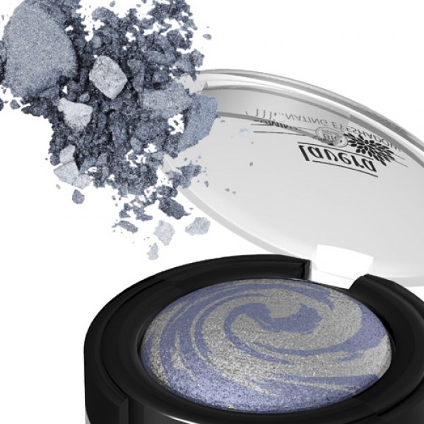 Lavera Baked Illuminating Eye Shadow in 03 Blue Galaxy