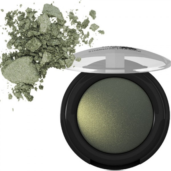 Lavera Baked Illuminating Eyeshadow in 07 Electric Green