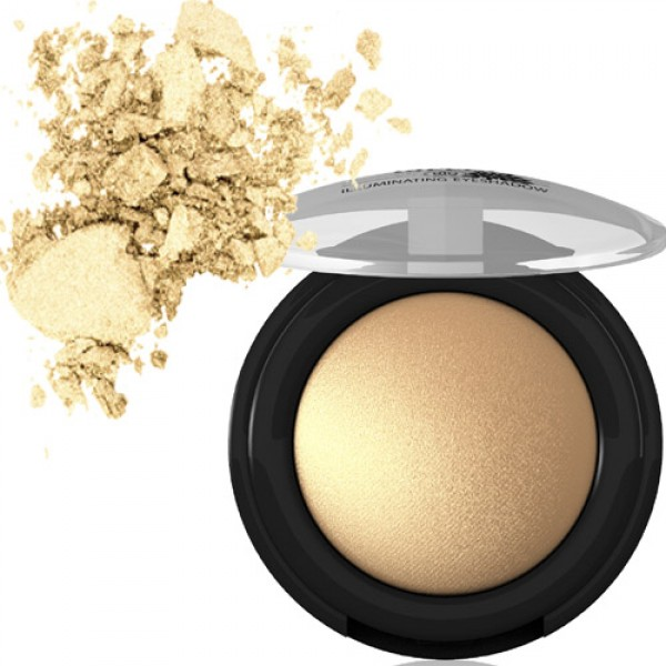 Lavera Baked Illuminating Eyeshadow in 05 Vibrant Gold