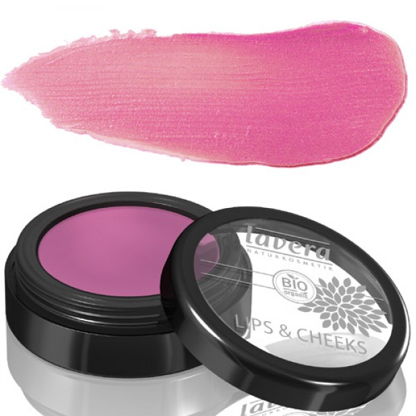 Lavera Lips and Cheeks  - 02 Pink Primrose