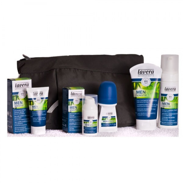 Lavera Men Shaving & Skincare Gift (Bag NOT Included)
