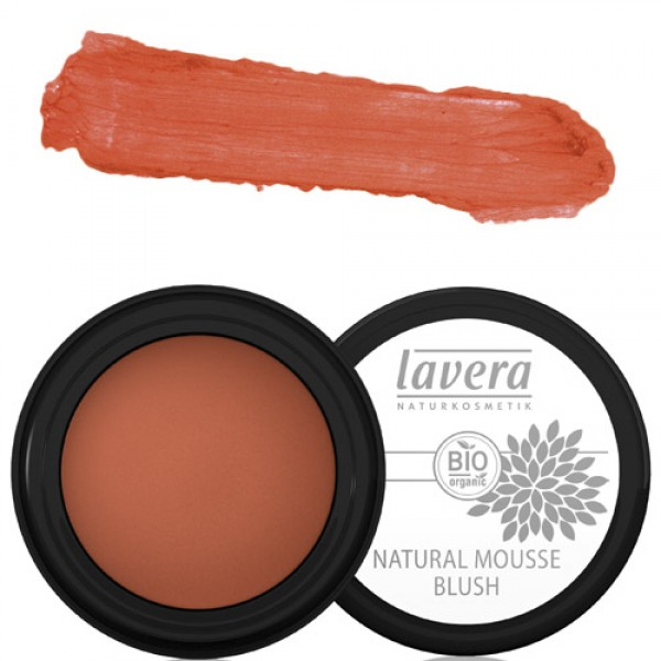 Lavera Natural Mousse Blush - 02 Soft Cherry