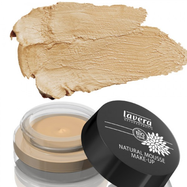 Lavera Natural Mousse Make Up Honey 03 Pot