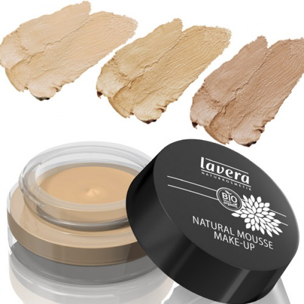 Lavera Natural Mousse Make Up in 3 Shades
