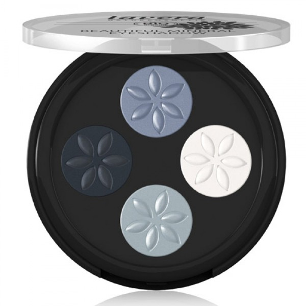 Lavera Eyeshadow - 07 Blue Platinum