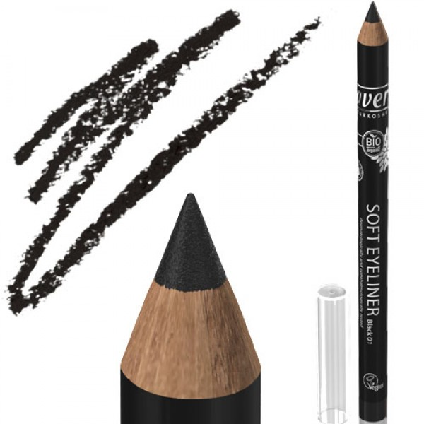 Lavera Soft Eye Liner 01 Black