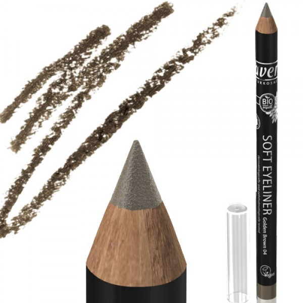 Lavera Soft Eye Liner 04 Golden Brown