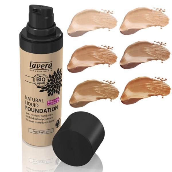 Lavera Natural Liquid Foundation  - now in 6 shades