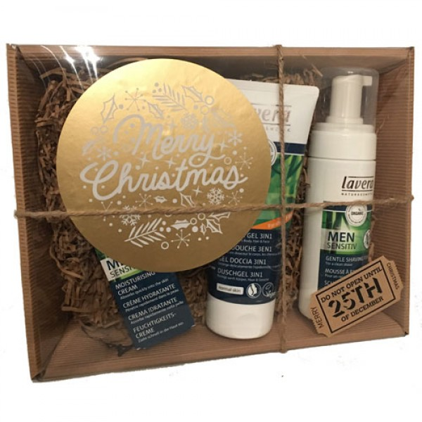 Lavera Men Selection Pack (+£5 gift wrapped as hamper)