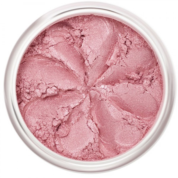 Lily Lolo Mineral Blush in Candy Girl - Pale Pink Shimmer