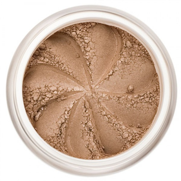 Matte Light Brown in a natural loose mineral powder formulation.