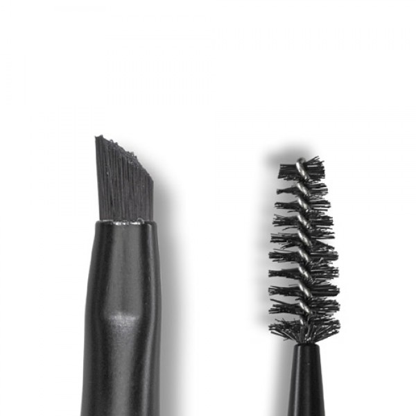 Lily Lolo Angled Brow / Spoolie Brush for Mineral Make up - Vegan Friendly
