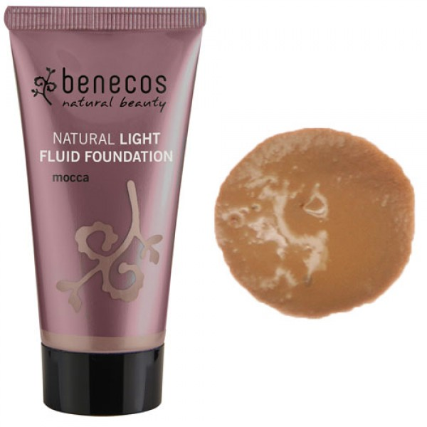 Benecos Natural Light Fluid Foundation - MOCCA