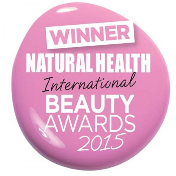 Won the Male Grooming Range category in the Natural Health International Beauty Awards 2015, judged by Daniel Galvin Junior.