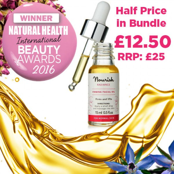 Bundle include the Radiance Facial Oil at Half Price