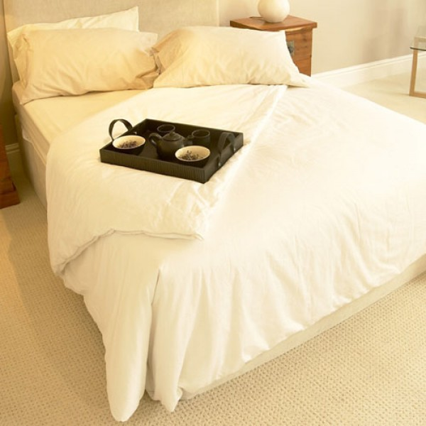Silk duvets drape beautifully and are very light making them very comfortable