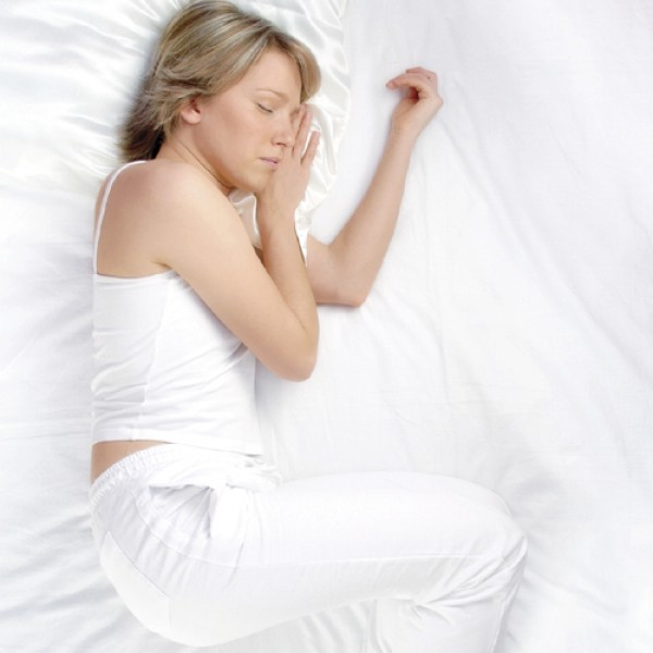 Wake up after a good night's sleep every morning when you sleep under a silk filled duvet