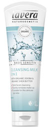 Lavera Basis Cleansing Milk - learn more >>