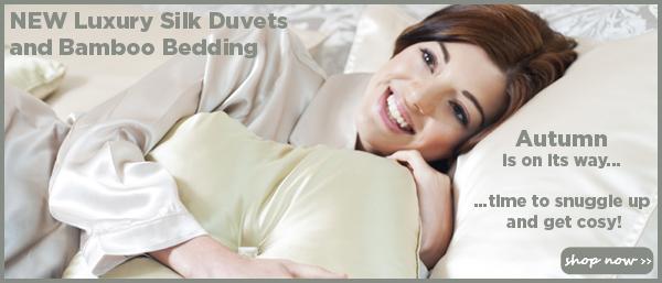 Silk Duvets and Bamboo Bedding with FREE Shipping at So Organic