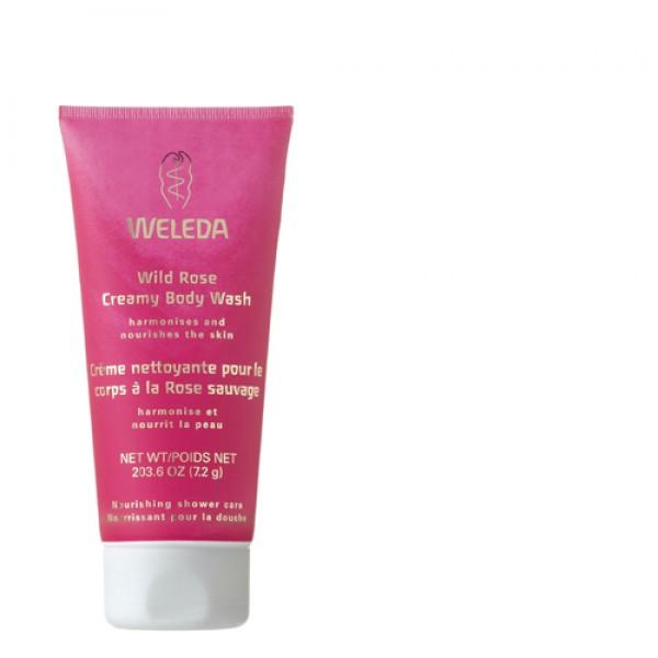 Weleda Wild Rose Creamy Body Wash