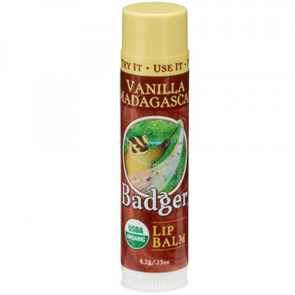 Vanilla Badger Lip Balm Stick