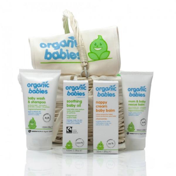 Green People Organic Babies New Baby Hamper