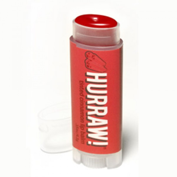 Hurraw Cinnamon Tinted Lip Balm
