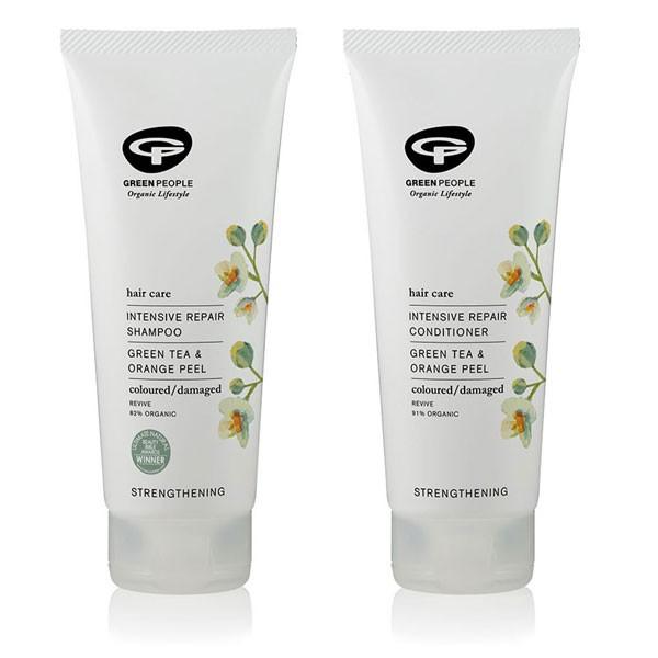Green People Intensive Repair Shampoo + Conditioner Bundle