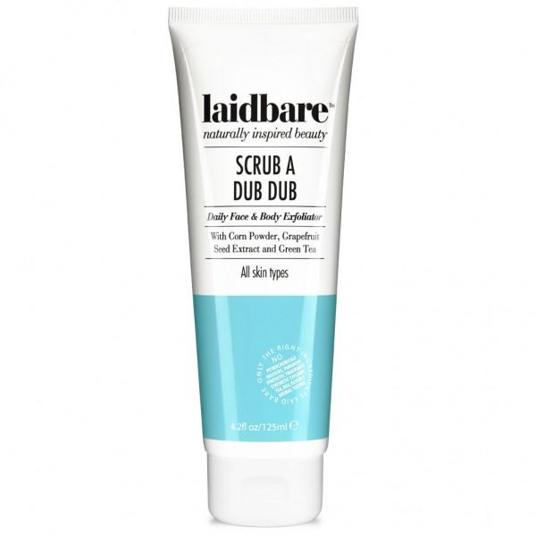 Laidbare Scrub A Dub Dub - Daily Face & Body Exfoliator