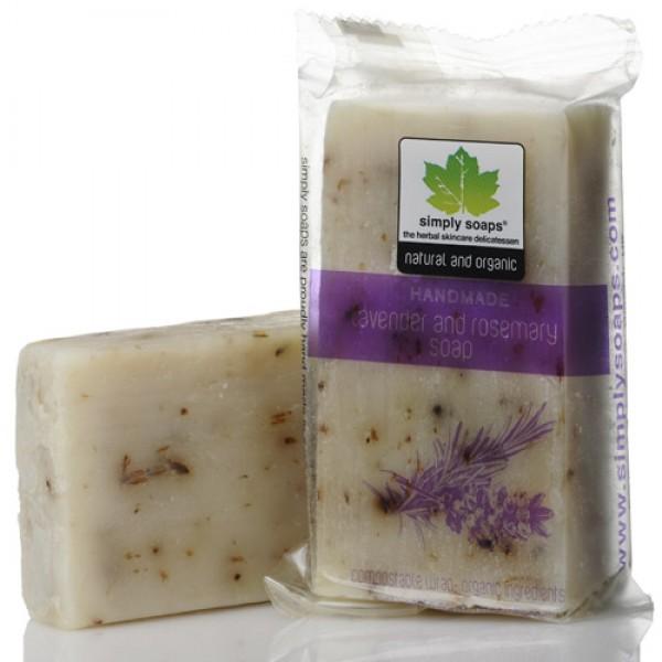 Hand Made Rosemary & Lavender Soap