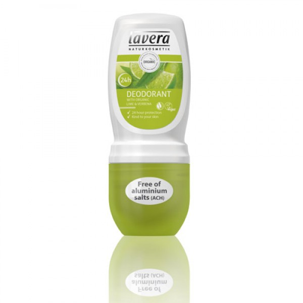 Lavera Lime Roll On Organic Deodorant