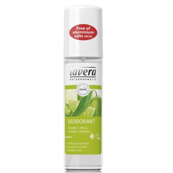 Lavera Lime Organic Deodorant Spray