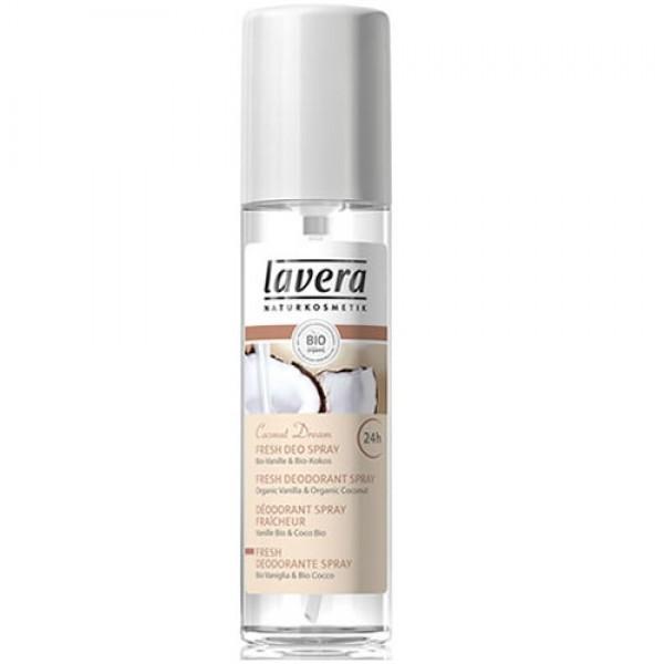 Coconut Organic Deodorant Spray