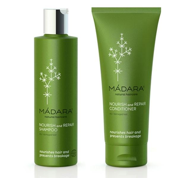 Madara Nourish + Repair Shampoo & Conditioner Bundle